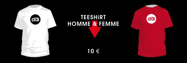 Teeshirts Dià - homme-femme