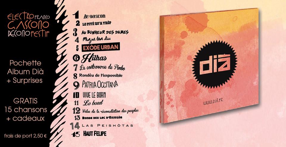 Album Dià CD gratuit